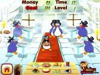 企鹅餐厅小游戏_打企鹅小游戏_南极企鹅