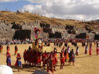 因蒂(图)印加帝国太阳祭盛况的重现