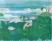 池上 诗句池上图片