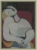 《在红色安乐椅上睡着的女人》(图)《梦》
