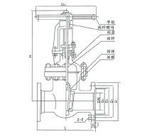不锈钢闸阀结构图