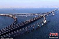 胶州湾跨海大桥――红岛海上立交