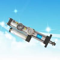 磁性可调增压缸由东莞玖容气动液压设备公司专业设计,在缸体安装一图片