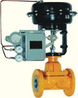 气动薄膜衬氟塑单座调节阀图片