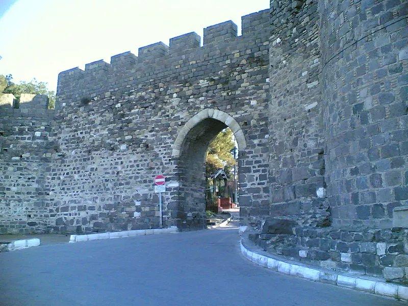 中世纪的士麦那手机也就是今天土耳其的伊兹密尔城墙壁纸元素图片