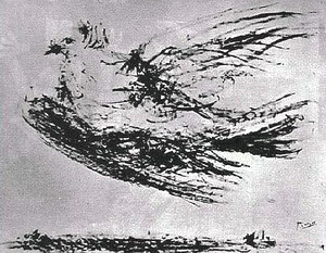 毕加索和平鸽   把鸽子作为世界和平的象征,并为世公认,当高清图片