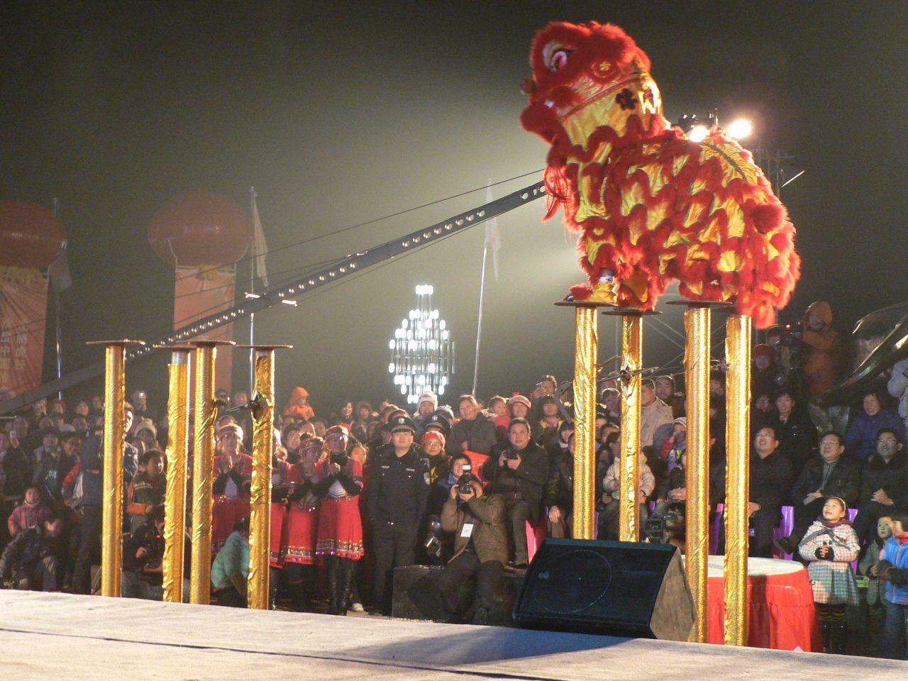 长沙舞狮队