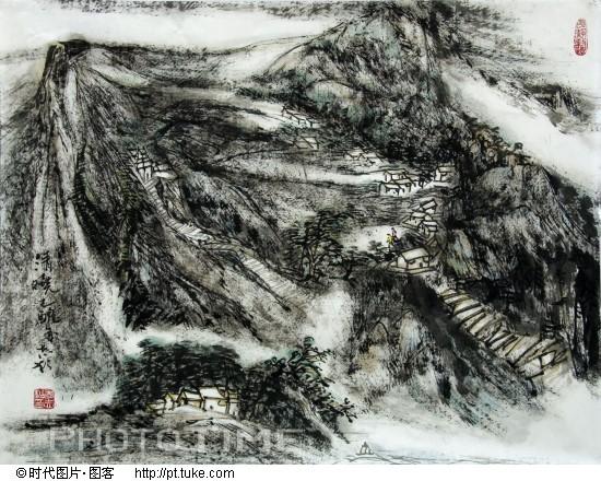 书画家李志松 书画家李志松作品欣赏 著名书画   书画家李