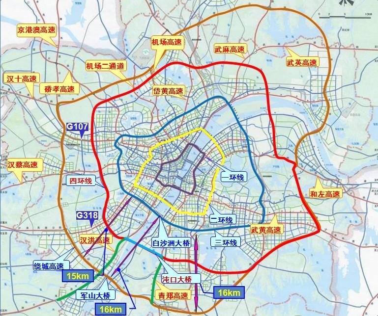 武汉四环线图片