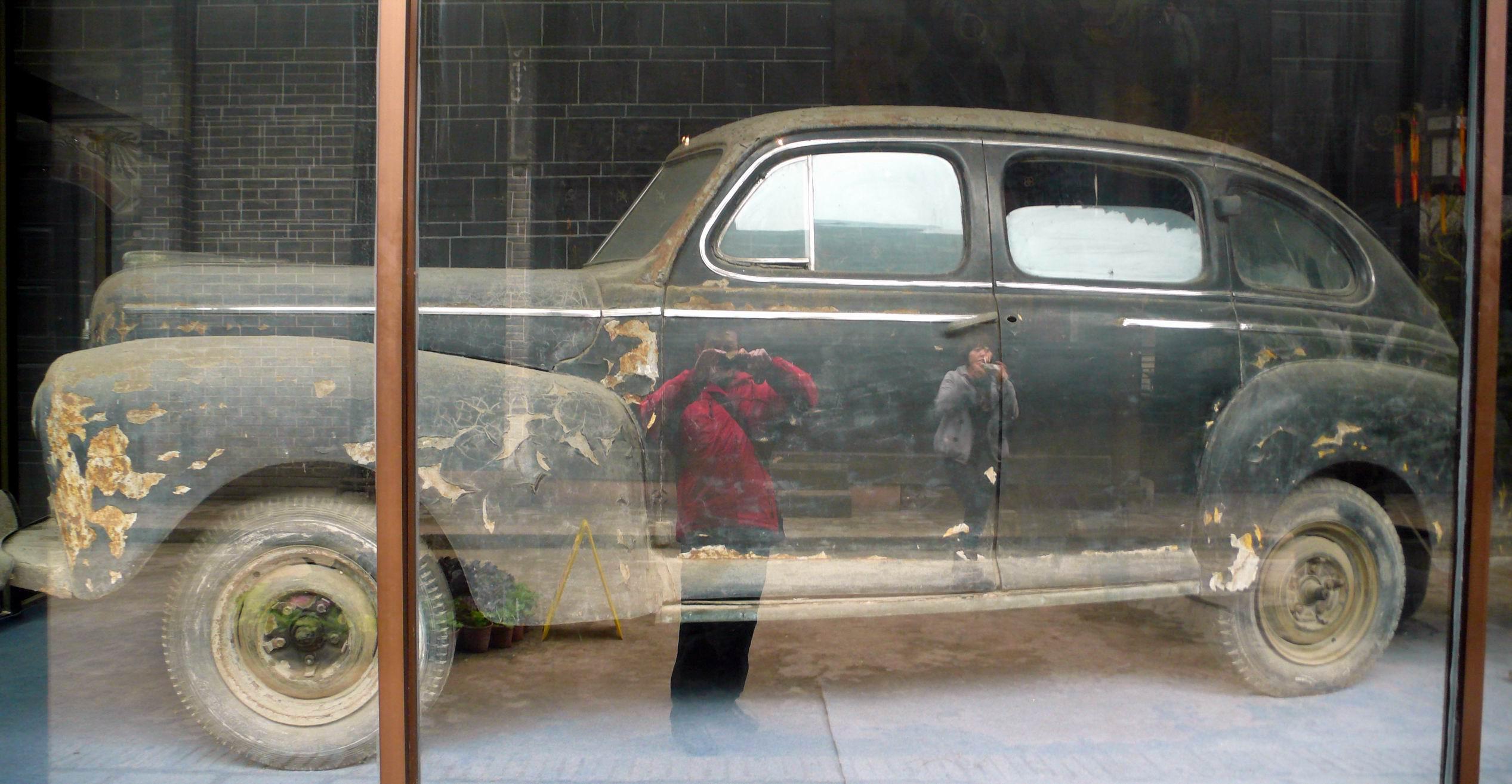 好有历史感的福特轿车啊 全搜索吃喝玩乐官方7夕奔腾乐驾高清图片
