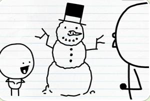 笔涂鸦创意动画30_铅笔涂鸦创意动画28