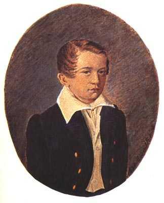12岁的屠格涅夫