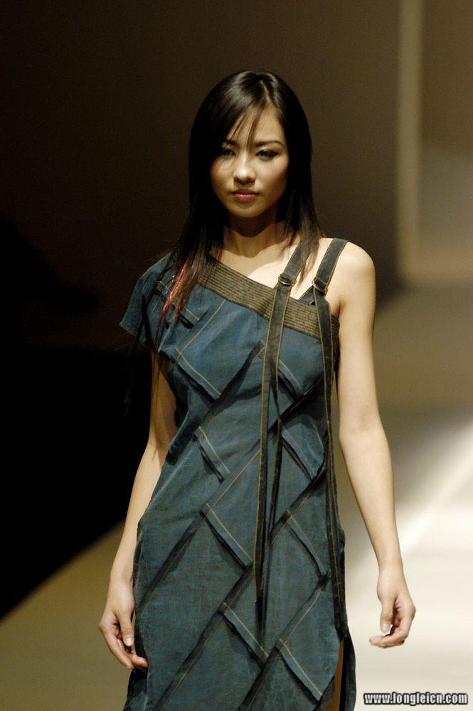 中国名模访谈--龙蕾_发型设计图片