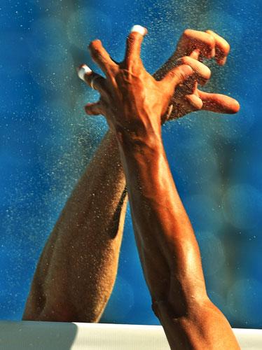 沙滩排球之技巧 高清图片