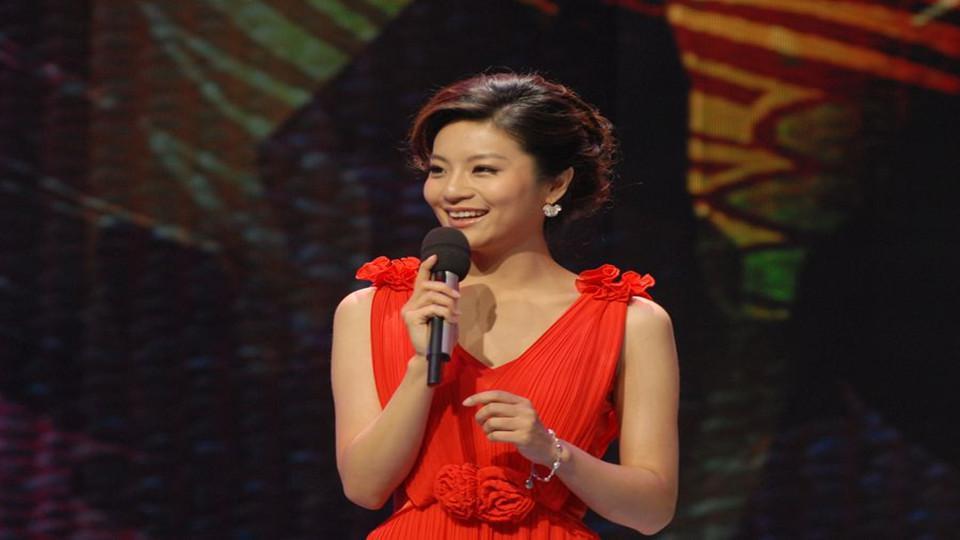 2017年1月27日,担任2017年央视春晚上海分会场主持人.图片