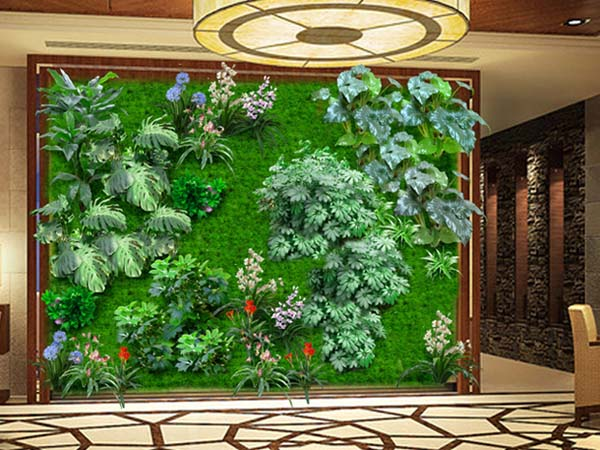 仿真植物墙做法有哪些?_其他_中国植物墙网装修问答