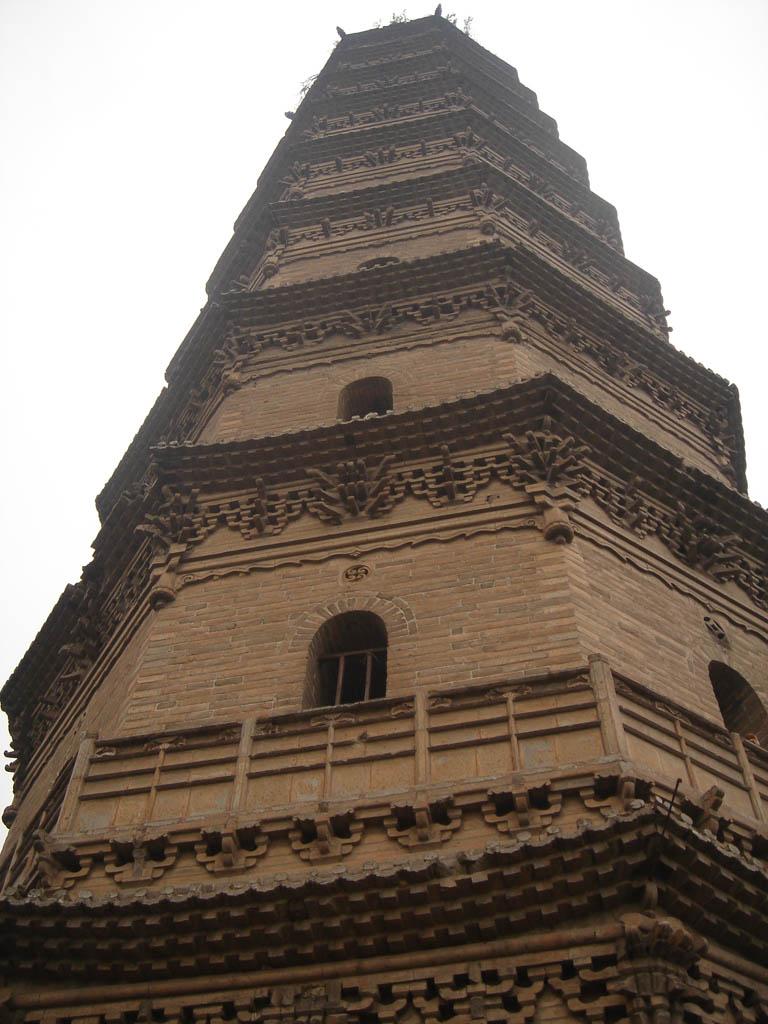 张壁古堡凌空塔