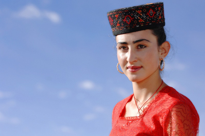 塔吉克族塔吉克美女塔吉克塔吉克斯坦美女