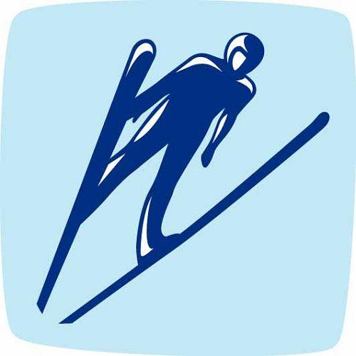 2010年温哥华冬奥会跳台滑雪项目图标