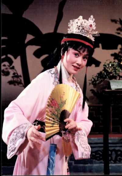 16岁时的王君安的宝玉剧照