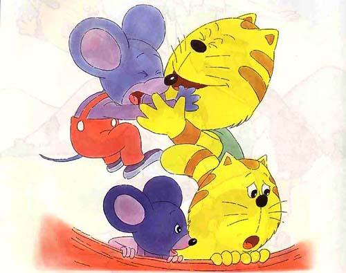 蓝皮鼠和大脸猫图册