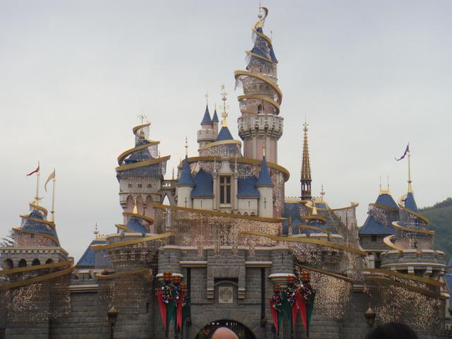 株洲方特欢乐世界夜晚的主题城堡 游乐场图片锦集 高清图片