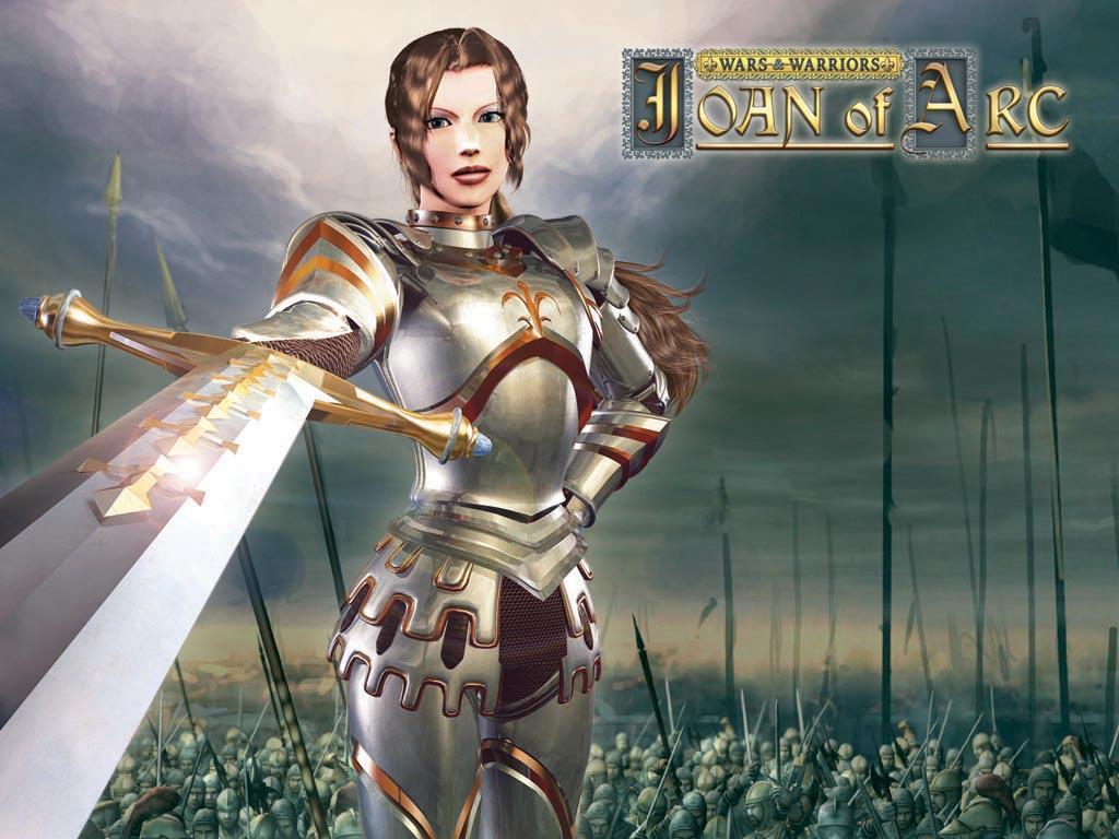 战争与战士 圣女贞德 高清图片