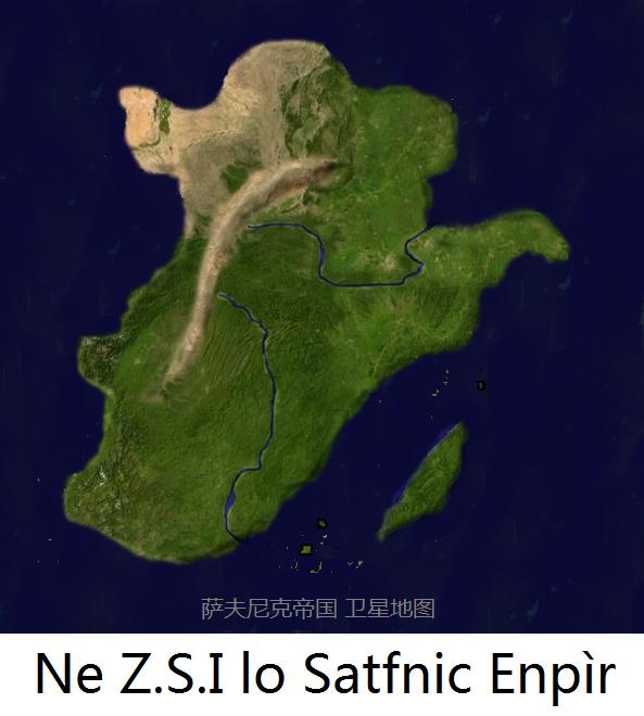 卫星地图  (593x660); 卫星地图; --欢迎来到萨夫尼克帝国 开放,交流