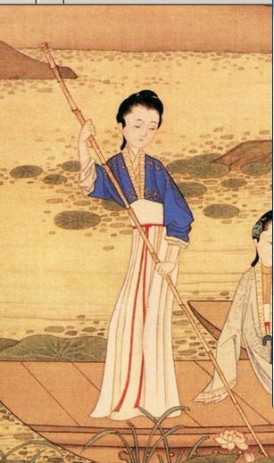 霞衣蝉带:中国女子的古典衣裙图片