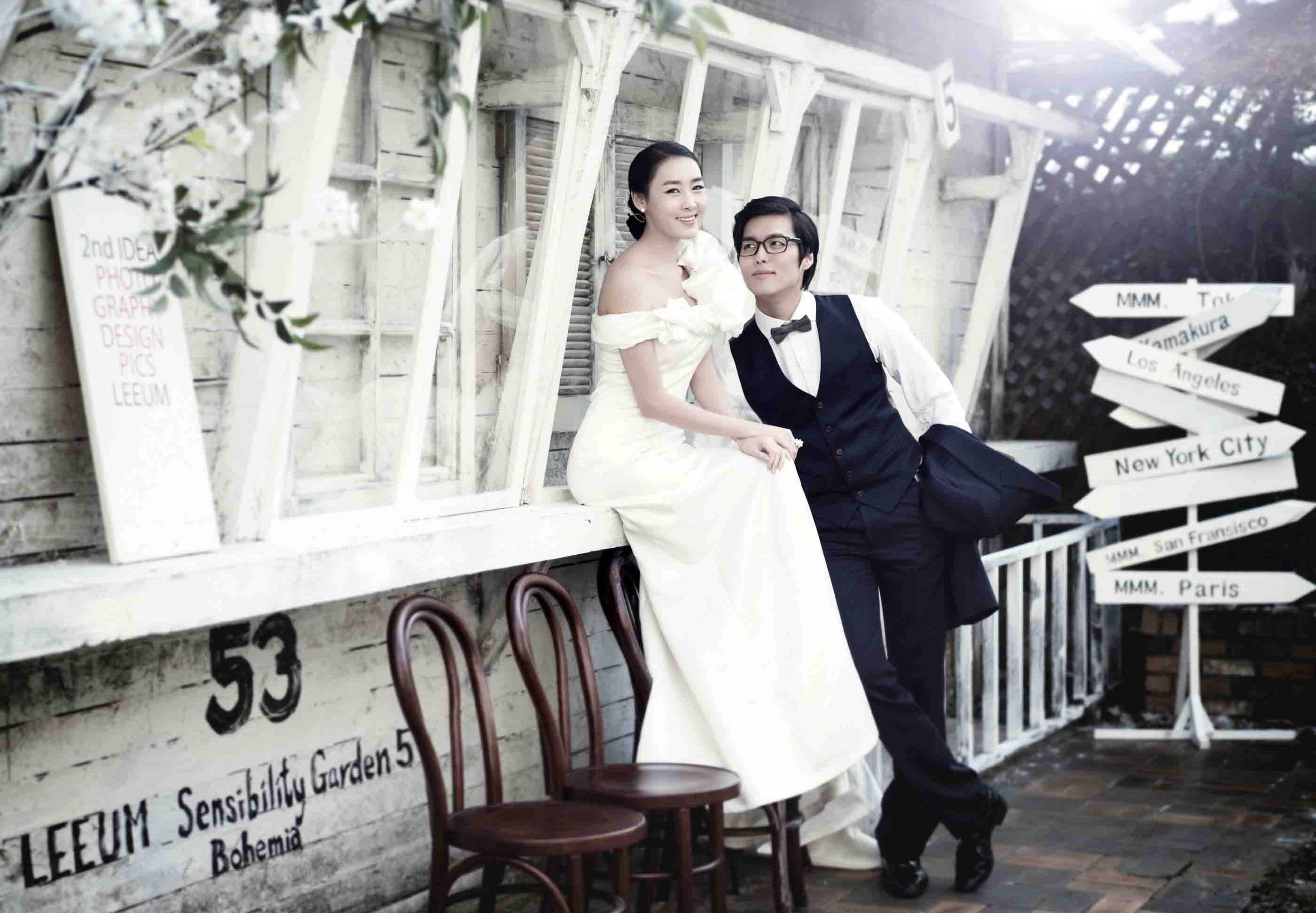蜜月旅游全外景婚纱照 时尚diy婚纱照应选择那种婚纱摄影工高清图片