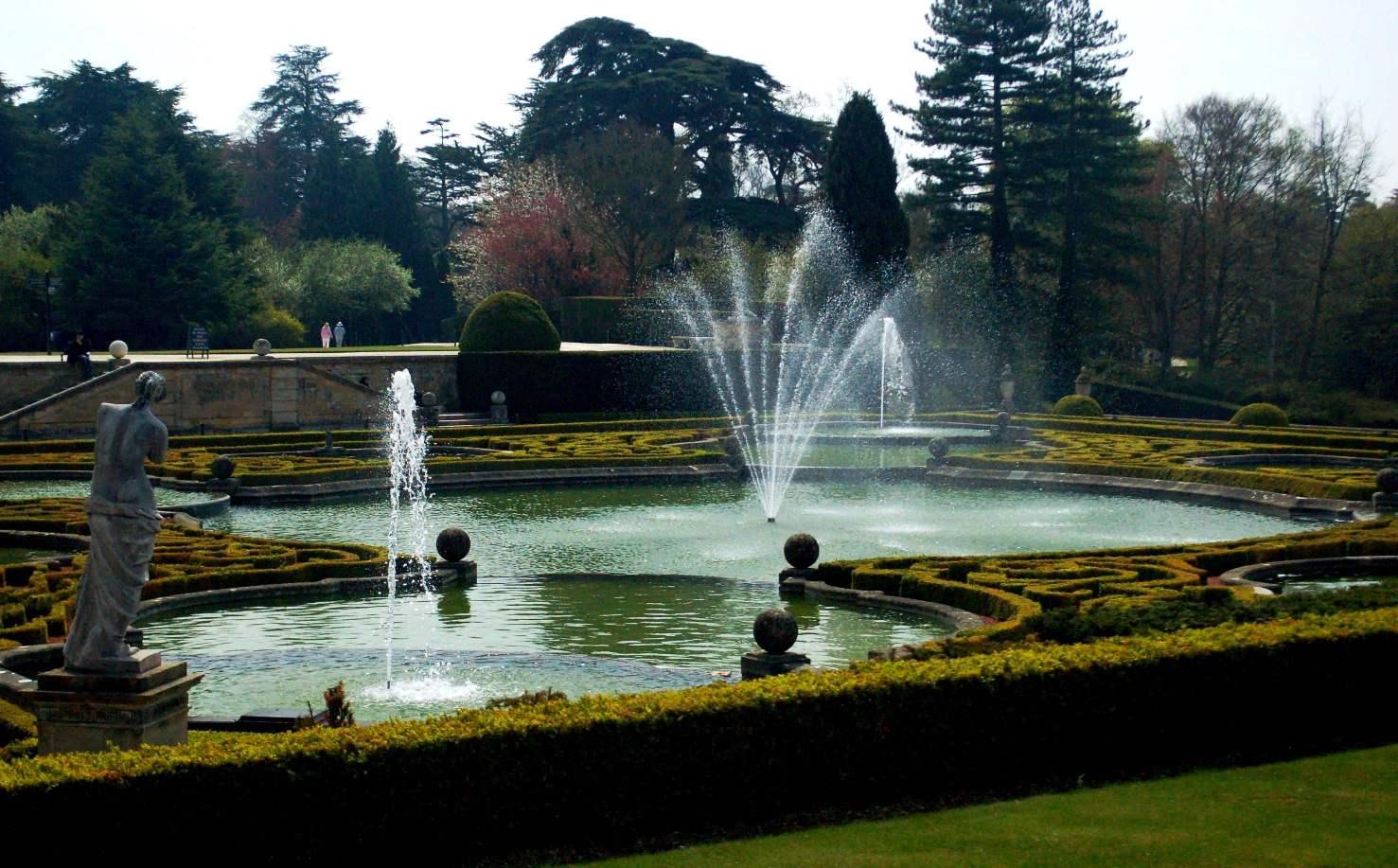 欧洲园林 法国现代景观设计风格初探 高清图片