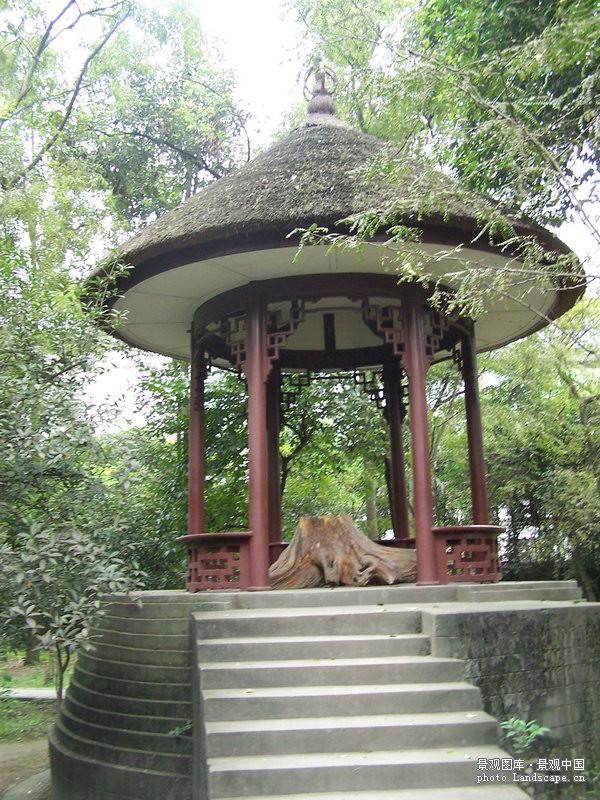 望江楼公园景观图片