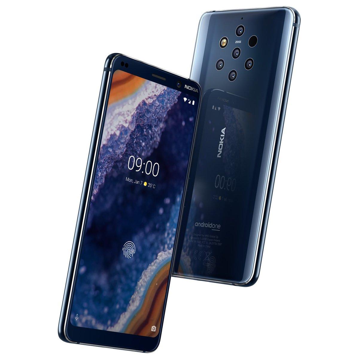 无论实际表现如何,诺基亚在2019年带来的新款旗舰手机在外形上就让人图片