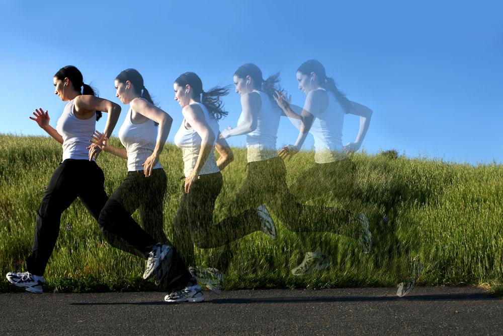 跑步图片美女跑步跑步跑步美女