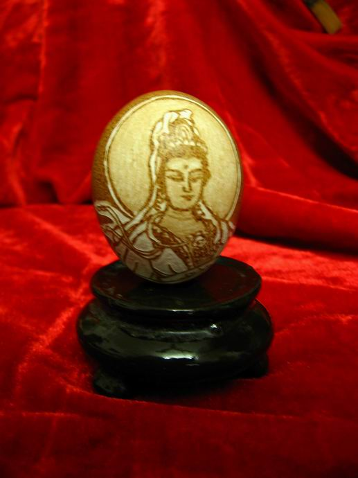 蛋雕作品欣赏