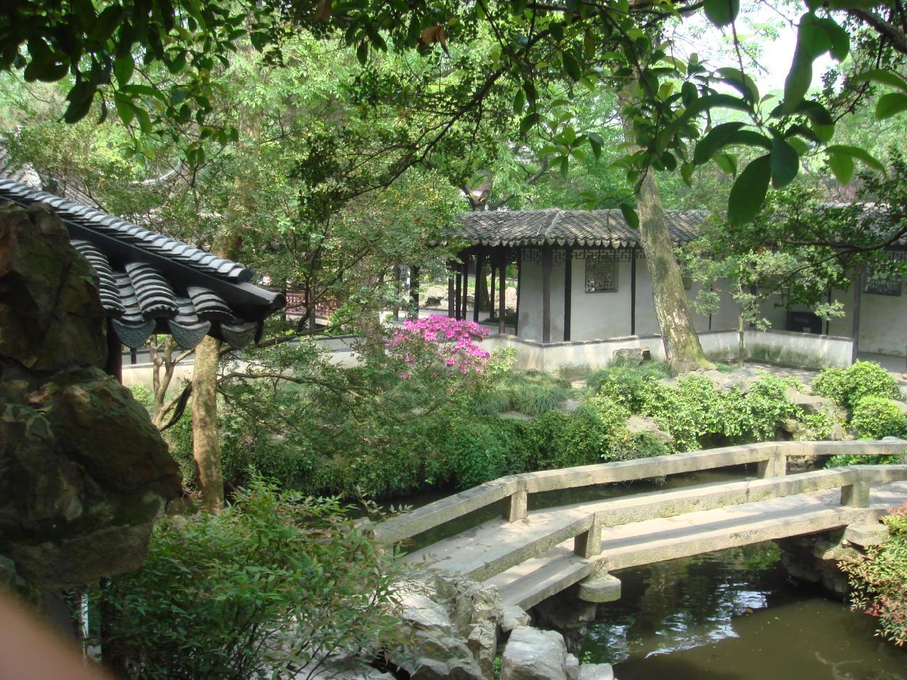 苏州园林庭院分享展示图片