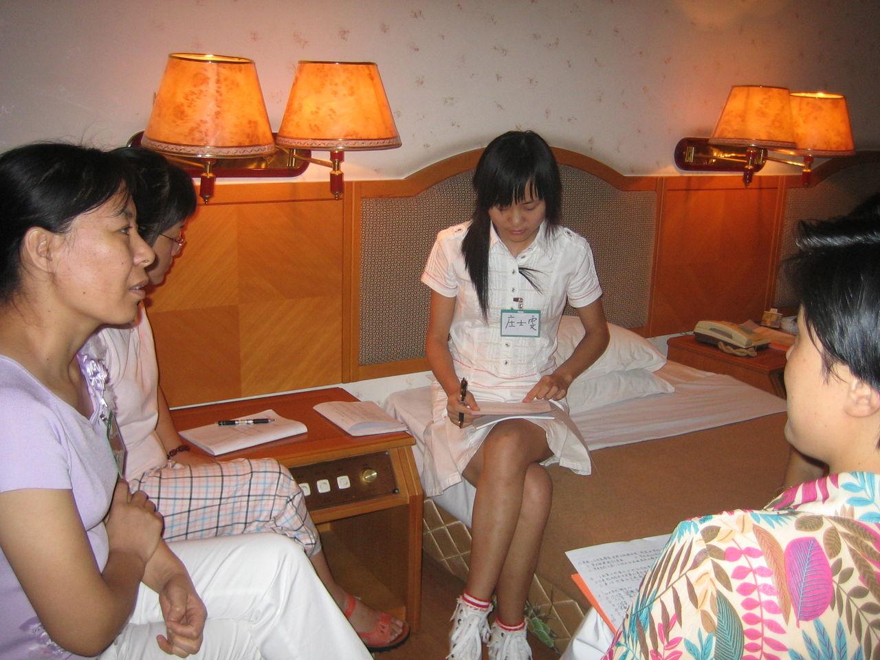 李姗璟和她的学生们