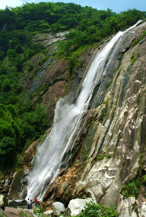 九龙瀑布群风景区美景 高清图片