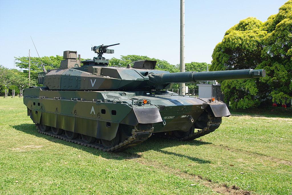 日本10式主战坦克