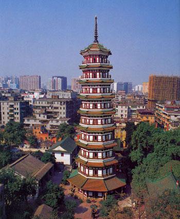 六榕寺远景