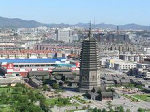 辽沈战役纪念馆旧址--大广济寺古建筑群