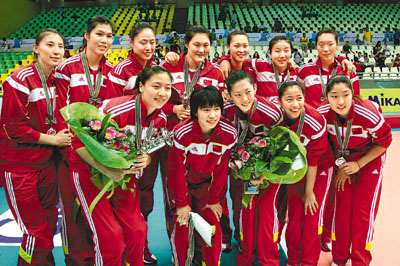 韩国女子排球队词条图册