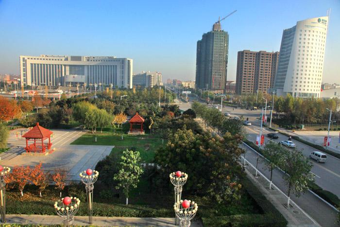 禹州城区 高清图片