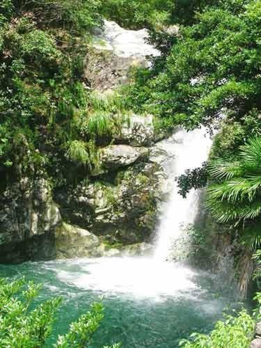 九龙瀑布群风景区景色 高清图片