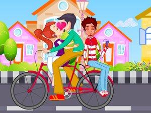 基本信息游戏名称:骑自行车的情侣&#911&#93游戏英文名:kiss