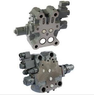 缓冲阀旁路接有选择阀,缓冲阀的左腔通过内流道和阻尼分别与电磁阀图片