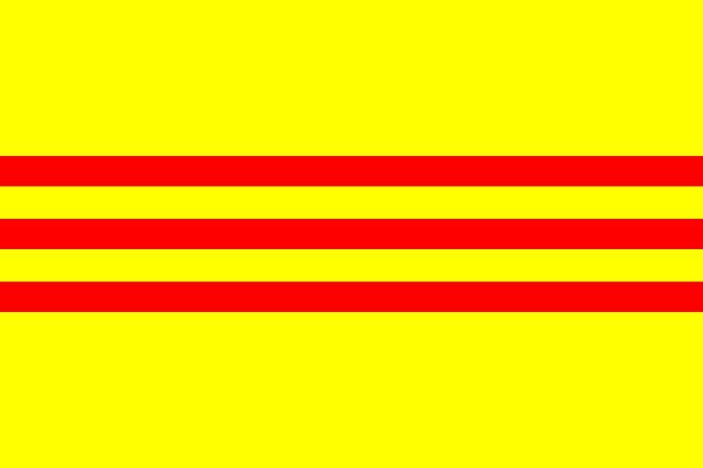 新国六条_南越国旗