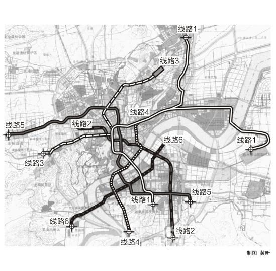 杭州地铁规划图-南京地铁线规划图图片大全 至2020年南京地铁线网规