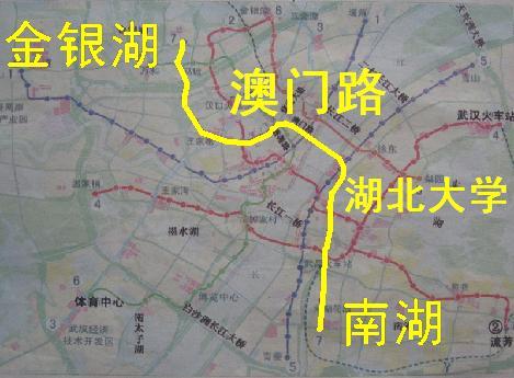武汉地铁7号线线路图 武汉7号地铁线路图 北京地铁7号线线路图图片