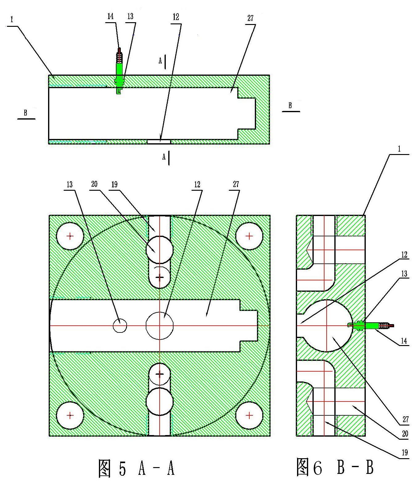 工程图 户型 户型图 平面图 1350_1600图片